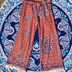 Paisley Print Lounge Pants